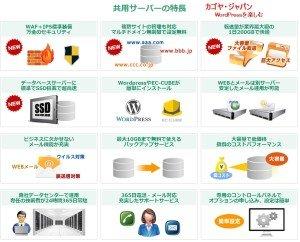 カゴヤ・ジャパンレンタルサーバー